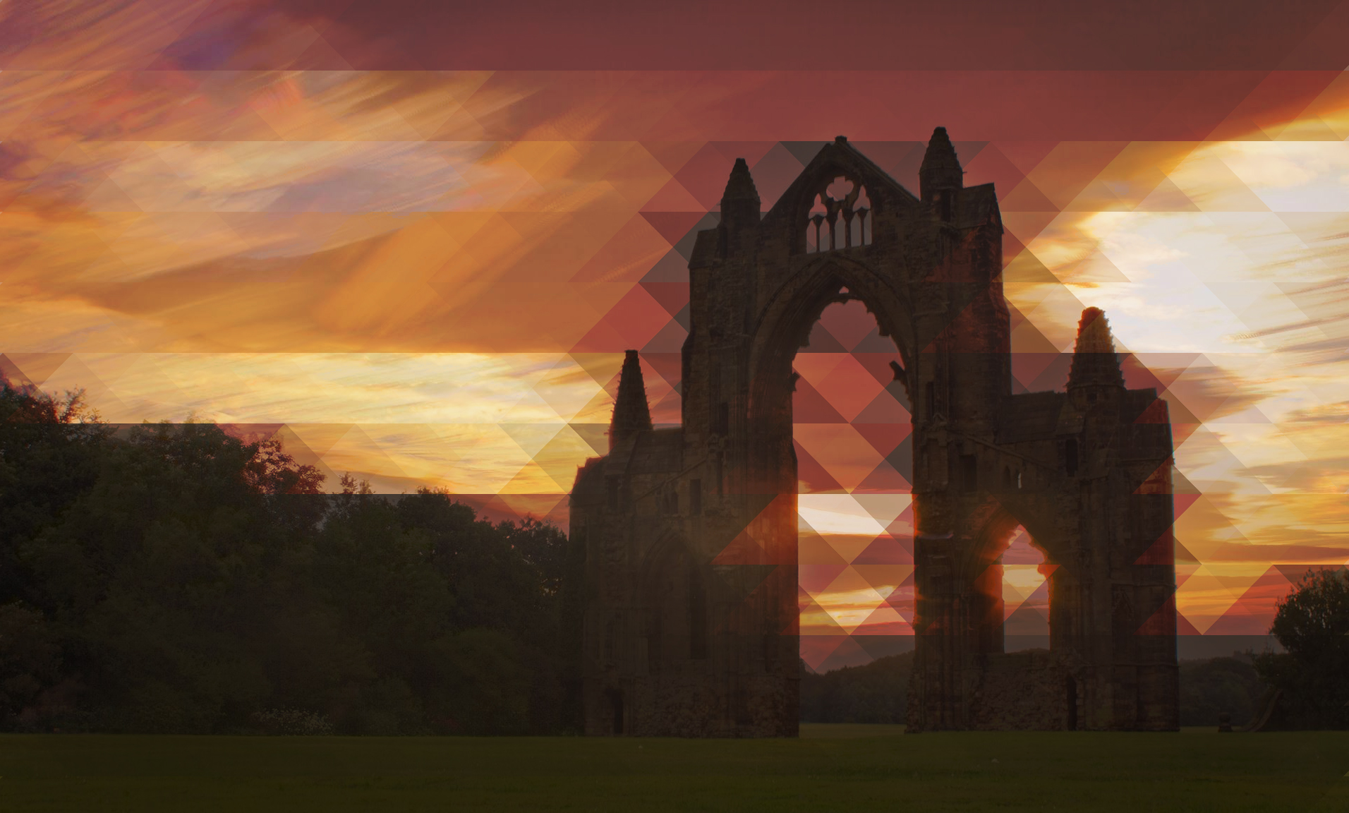 Guisborough Priory - In Tessellation