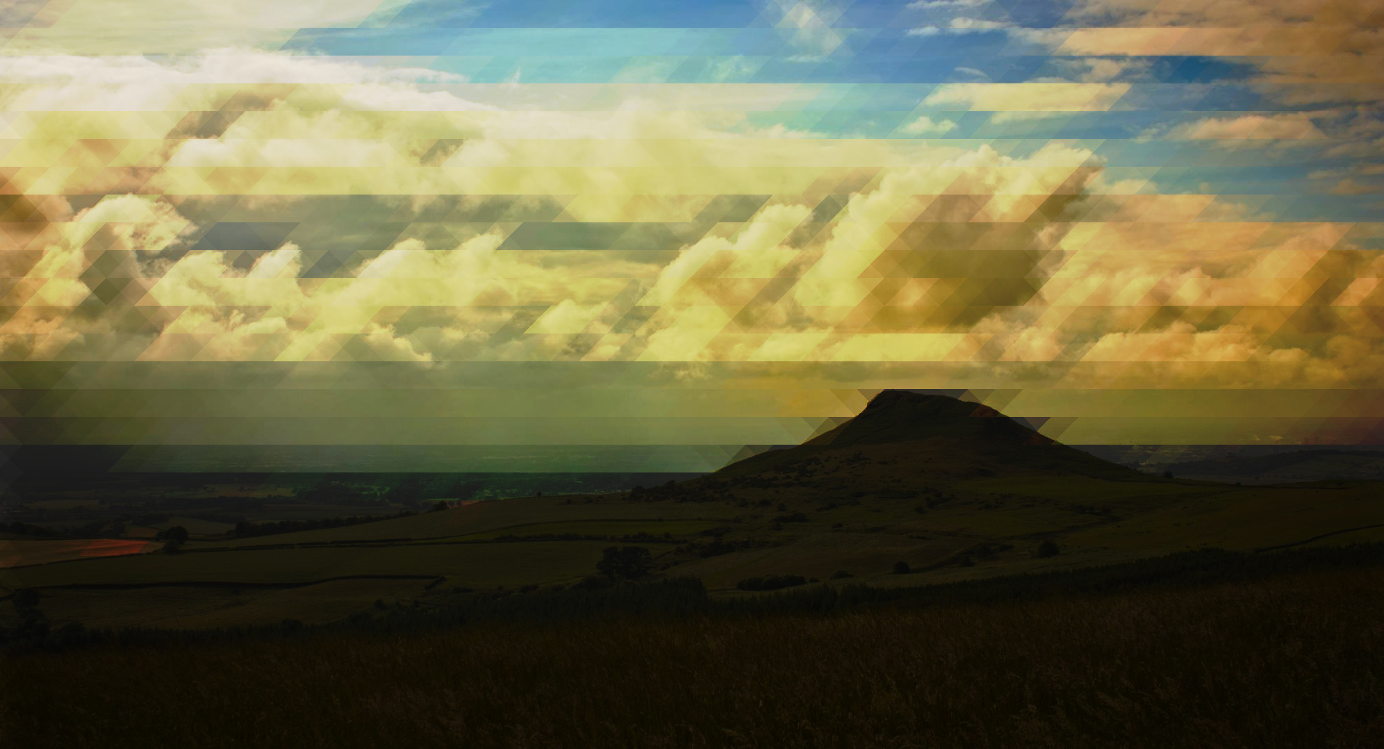 Roseberry Topping  - In Tessellation